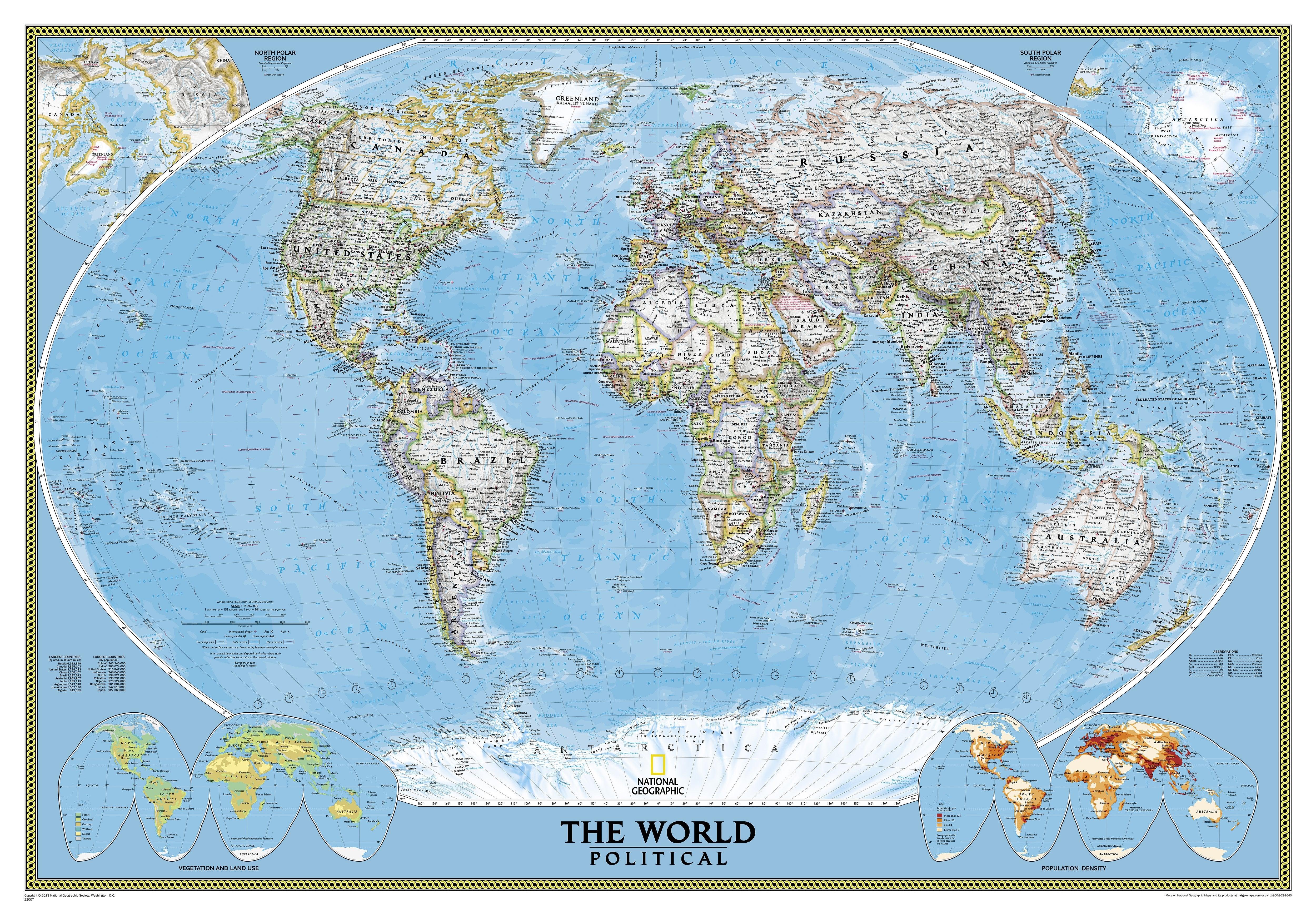Political world map super large size world maps gumiabroncs Choice Image