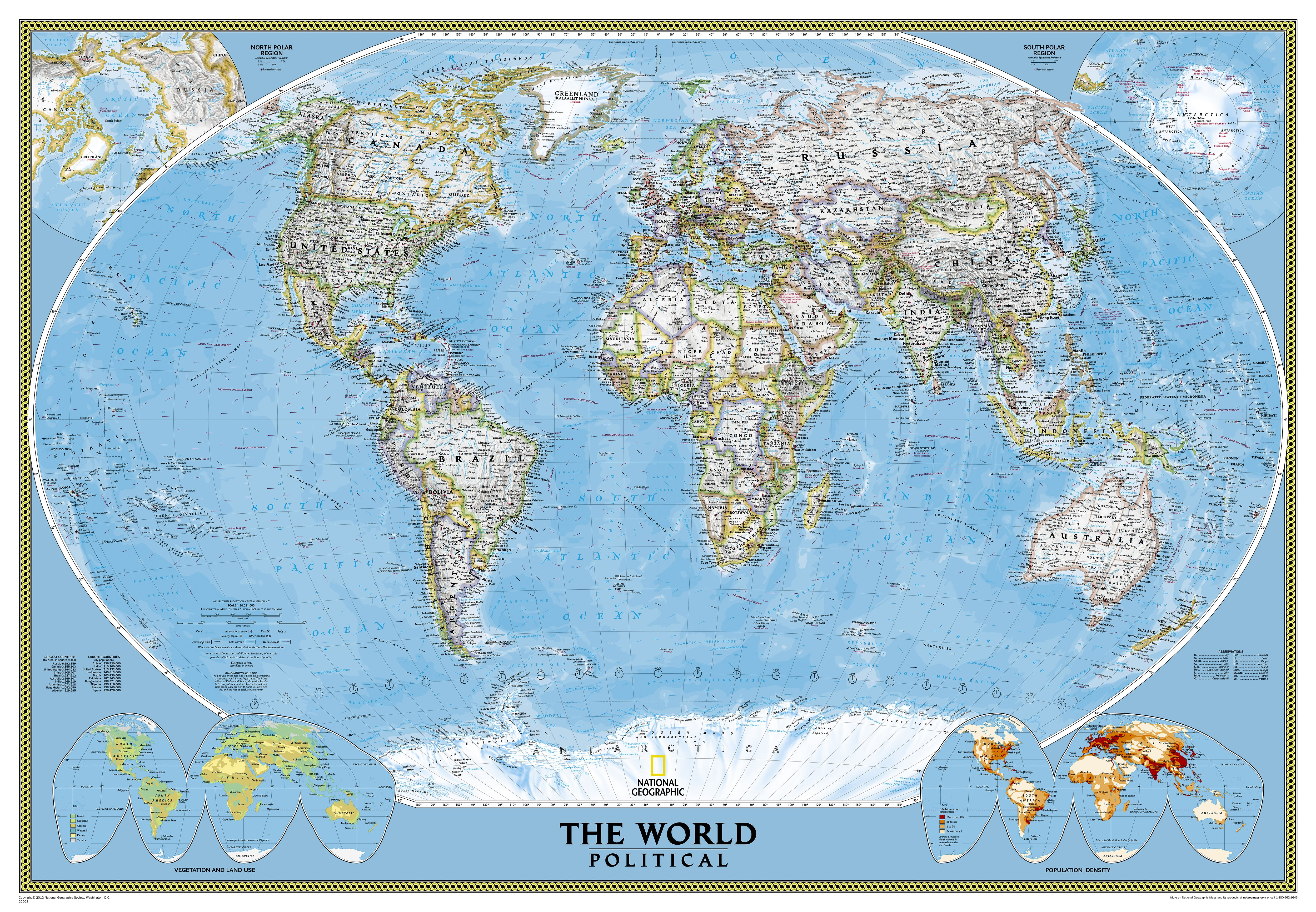 Political world map large size world maps gumiabroncs Gallery